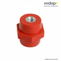 Sechseckiger Isolator Buchse/Buchse H20 M4